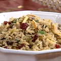Wild Rice Pilaf with Grapes and Cashews