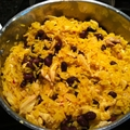 Yellow Rice, Chicken & Black Beans
