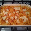 Ziti Baked with Ricotta Cheese