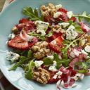 Arugula Strawberry And Walnut Salad