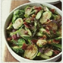 Asparagus, Brussels Sprouts & Red Onion