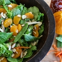 carrot ginger and orange salad