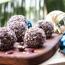 Chocolate Hazelnut Christmas Blissballs
