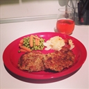 Crispy Panko Pork Chops