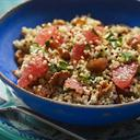 Grain Salad With Toasted Walnuts, Dates And Grapefruit