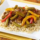 Green Bean Beef Stir Fry