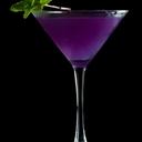 Halloween Cocktail- Purple Martini