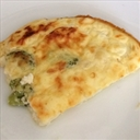 Low-fat Crustless quiche