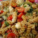Pasta with Salmon, Sun-Dried Tomatoes and Capers