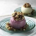 Roasted Stuffed Onions