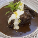 Short ribs, slow-cooked