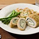 Spinach & Mozzarella Stuffed Chicken