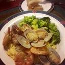 Super Quick & Easy Shrimp and Clam 'Scampi'