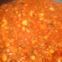 16 bean soup, vegetarian