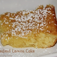 2 Ingredient Lemon Cake