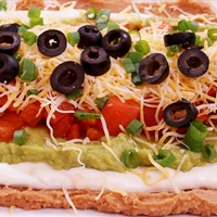 7 Layered Bean Dip