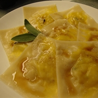Acorn Squash Ravioli