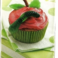 Adorable Applesauce Cupcakes
