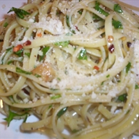 Aila e Olio Linguine