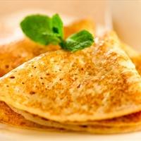 Almond flour crepes