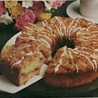 Almond Streusel Cake