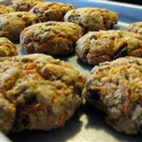 Amaranth Carrot Cookies