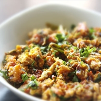 Anda Bhurji (Spicy Indian Scrambled Eggs)