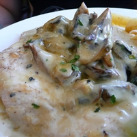 Andrew's Creamy Mushroom Chicken