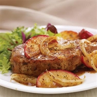 Apple and Sage Pork Chops