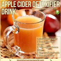 Apple Cider Detoxifier Drink