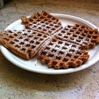 Apple Cinnamon Waffles