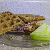Apple-Oatmeal Waffles