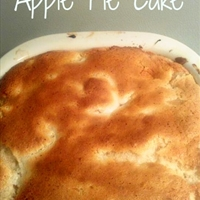 Apple Pie Cake - 2 ingredients