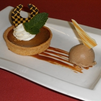Apple Praline Tart