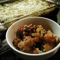 Apple-Rhubarb Crisp