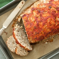 Apple, Sage and Turkey Meatloaf