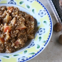 Apple-spice Oatmeal Cereal