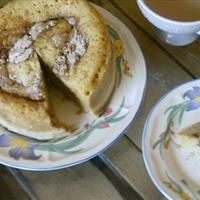 Apple Streusel Microwave Mayonnaise Coffee Cake