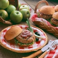 Apple Turkey Burgers