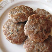 Apple Turkey Sausage Patties
