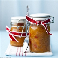 Apricot and chilli relish