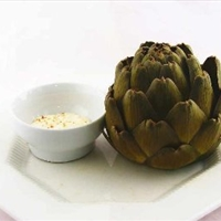 Artichoke Preparing for Cooking Whole