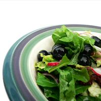 Arugula & Blueberry Salad with Raspberry Vinaigrette