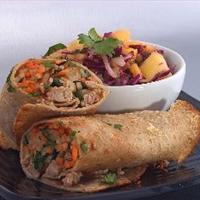 Asian Sandwich (Bahn Mi) Wraps