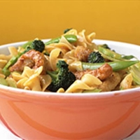 Asian-Style Pork and Noodles
