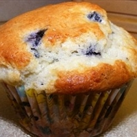 Aunt Evelyn's Blueberry Muffins