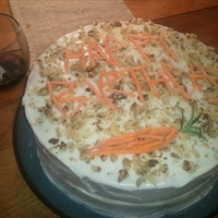 Aunt Wendy's Carrot Cake