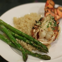 Awesome Grilled Lobster Tails with Seasoned Butter