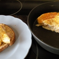 Bacon and Sour Cream Omelet