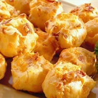 Bacon Cheddar Puffs